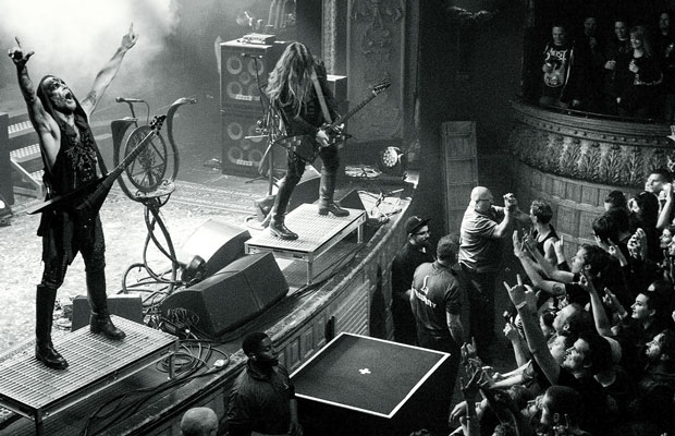 "BEHEMOTH announce live DVD/Blu-Ray entitled ""Messe Noire"""
