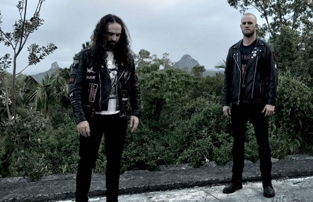 MONGREL'S CROSS reveal new track from long-awaited HELLS HEADBANGERS album